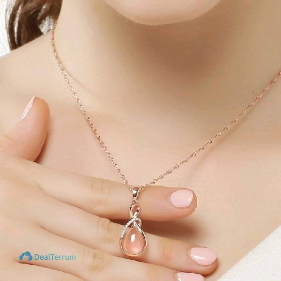 Women's Elegant Drop Pendant Necklaces Women Jewelry